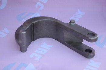 Base of the clamp. Material: steel 40X