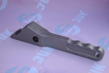Handle of clamp bracket. Material: steel 40X